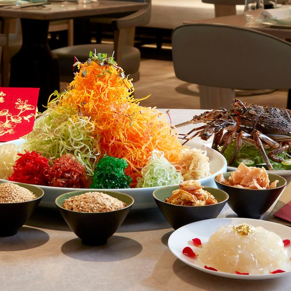 Prosperity Yu Sheng with Asian Live Lobster