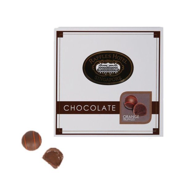 Raffles Orange Truffles - 9 pcs